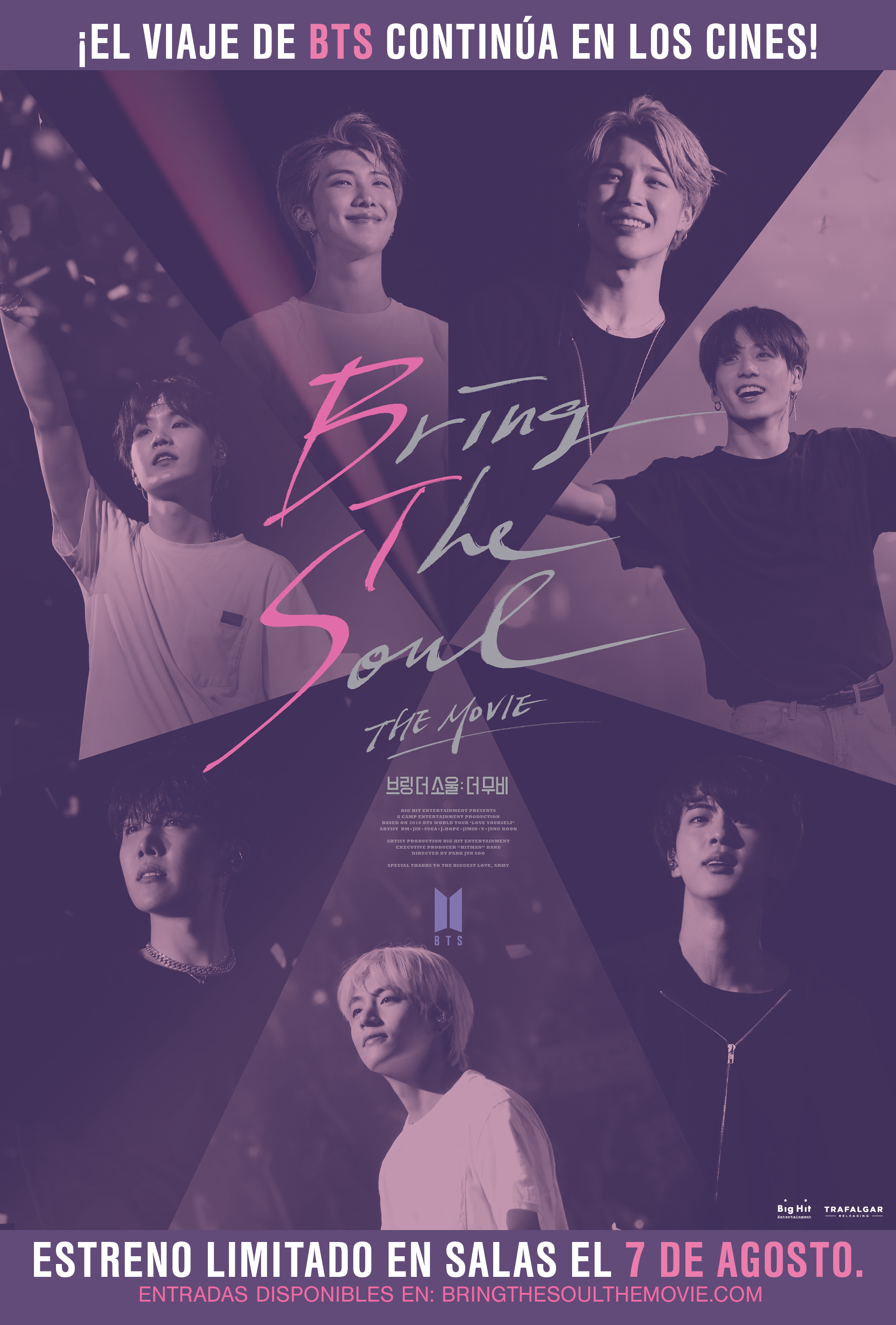 BRING THE SOUL: THE MOVIE - 2D Subtitulada