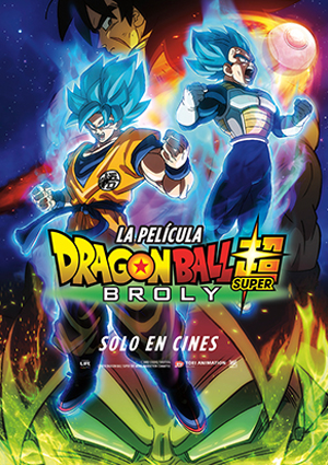 DRAGON BALL SUPER: BROLY - 2D Español