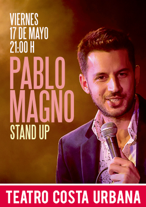 PABLO MAGNO - STAND UP